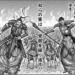 キングダム581話ネタバレ!最新飛信隊と玉鳳の勢いに趙左翼堯雲は?
